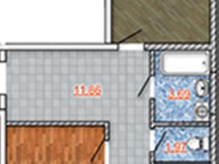 Продажа квартир: 2-комнатная квартира, Краснодар, ул. им Федора Лузана, 111, фото 1