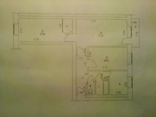 Продажа квартир: 3-комнатная квартира, Саратовская область, Балаково, ул. 20 лет ВЛКСМ, 25, фото 1