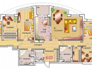 Продажа квартир: 5-комнатная квартира, Краснодар, Московская ул., фото 1