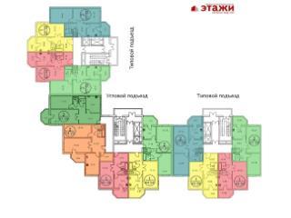 Продажа квартир: 2-комнатная квартира, Астрахань, ул. Аксакова, 12к2, фото 1