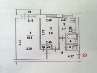 Продажа квартир: 2-комнатная квартира, Москва, Открытое ш., 28к9, фото 1