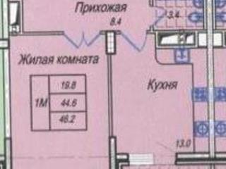 Продажа квартир: 1-комнатная квартира, Краснодар, пер. им Архитектора Петина, 16, фото 1