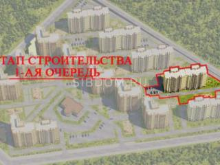 Продажа квартир: 1-комнатная квартира в новостройке, Красноярск, Соколовская ул., 23, фото 1