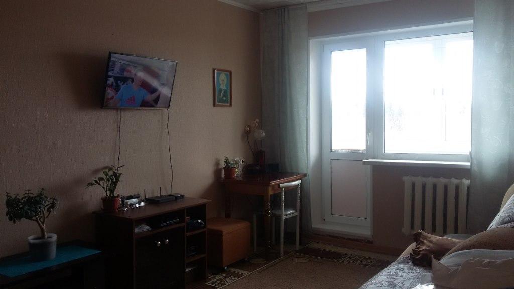 Продажа квартир: 1-комнатная квартира, Пермь, п. Новые Ляды, ул. Мира, 17, фото 1