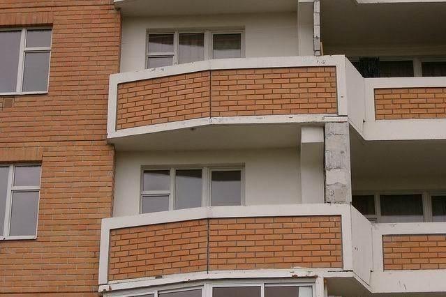 Серия дома п44т балконы.