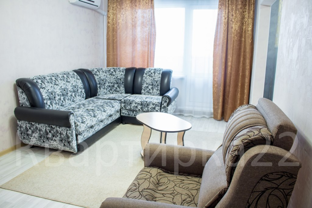 Аренда квартир: 1-комнатная квартира, Барнаул, ул. Солнечная Поляна, 105, фото 1